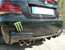 BMW E82 1M DTM-Style Carbon Fiber Rear Bumper Extension
