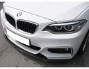 BMW F22 RX Carbon Fiber Front Bumper Extension