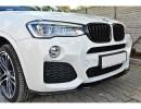 BMW X4 F26 MX Front Bumper Extension