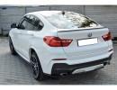 BMW X4 F26 MX Rear Bumper Extension