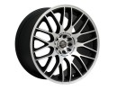 Barracuda Karizzma Matt Black Polished Wheel