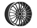 Barracuda Le Mans Matt Black Polished Wheel