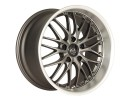 Barracuda Voltec T6 Gun Metal Wheel