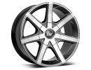 CW Off Road CWE Mistral Anthracite Polished Wheel
