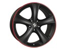 Etabeta Tettsut Black Red Wheel