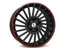 Etabeta Venti-R Black Red Wheel