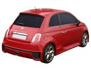 Fiat 500 Giovanni Rear Bumper