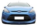 Ford Fiesta MK7 Extensii Bara Fata Reptile