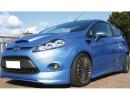 Ford Fiesta MK7 Lizard Front Bumper Extension