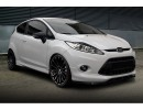 Ford Fiesta MK7 ST MX-Style Front Bumper Extension