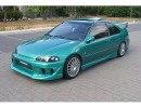Honda Civic 92-95 Coupe J-Style Side Skirts