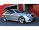 Mercedes C-Class W203 AMG-Style Side Skirts