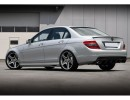 Mercedes C-Class W204 Deluxe Side Skirts