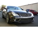 Mercedes CLS W219 55 AMG Speed Carbon Fiber Front Bumper Extension
