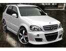 Mercedes ML W163 A-Style Side Skirts