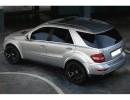 Mercedes ML W164 SX Wheel Arch Extensions
