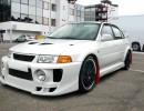 Mitsubishi Lancer EVO V J-Style Front Bumper Extension