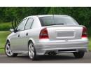 Opel Astra G Sedan/Saloon J-Style Rear Bumper Extension