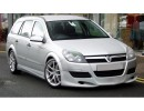 Opel Astra H Caravan J-Style Front Bumper Extension