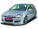 Opel Astra H Facelift SX-Line Front Bumper Extension
