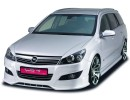 Opel Astra H Facelift XL-Line Front Bumper Extension