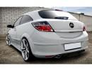 Opel Astra H GTC Vortex Rear Bumper Extension