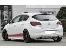 Opel Astra J Facelift Retina Rear Bumper Extension