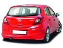 Opel Corsa D C2 Rear Bumper Extension