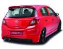 Opel Corsa D Crono Rear Bumper Extension