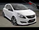 Opel Corsa D M-Style Front Bumper Extension