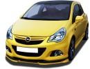 Opel Corsa D OPC Facelift Nurburgring Verus-X Front Bumper Extension