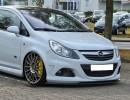 Opel Corsa D OPC Intenso Front Bumper Extension