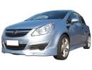 Opel Corsa D RaceLine Front Bumper Extension