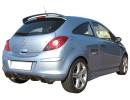 Opel Corsa D RaceLine Rear Bumper Extension