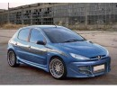 Peugeot 206 5-Doors NT Side Skirts