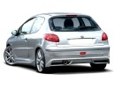 Peugeot 206 J-Style Rear Bumper Extension