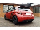 Peugeot 208 GTI LX Rear Bumper Extension