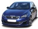 Peugeot 308 MK2 Verus-X Front Bumper Extension