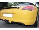 Porsche Boxster 987 Facelift Supreme Carbon Fiber Rear Bumper Extensions