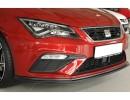 Seat Leon 5F FR Facelift V2 Front Bumper Extension