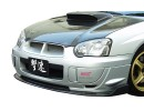 Subaru Impreza MK2 Facelift BX-2 Front Bumper Extension