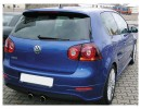 VW Golf 5 R-Look Rear Bumper Extension