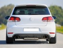 VW Golf 6 GTI V2 Rear Bumper Extension