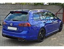 VW Golf 7 R Variant Meteor Rear Bumper Extension