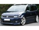 VW Touran Facelift Intenso Front Bumper Extension