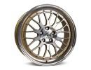 mbDesign LV1 Gold Full Polished Wheel